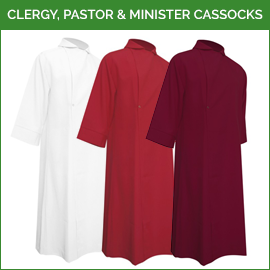Clergy, Pastor & Minister Cassocks