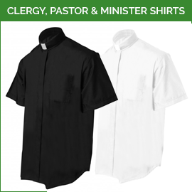 Clergy, Pastor & Minister Shirts