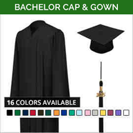 Bachelor Academic Faculty Cap & Gown Sets