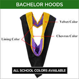 Bachelor Academic Faculty Hoods
