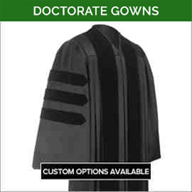 Doctorate Academic Faculty Gowns