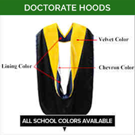 Doctorate Academic Faculty Hoods