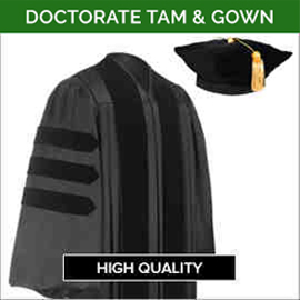 Doctorate Academic Faculty Tam & Gown Sets
