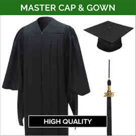 Master Academic Faculty Cap & Gown Sets