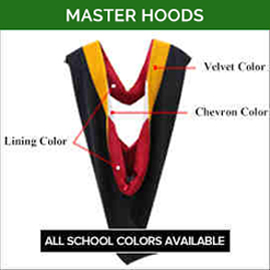 Master Academic Faculty Hoods
