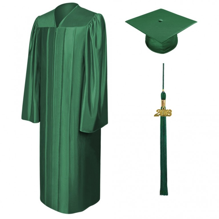 Shiny Hunter Cap, Gown & Tassel