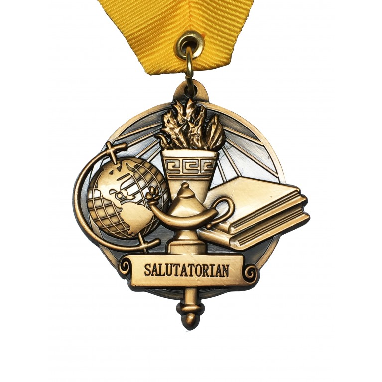 Gold Salutatorian Medal