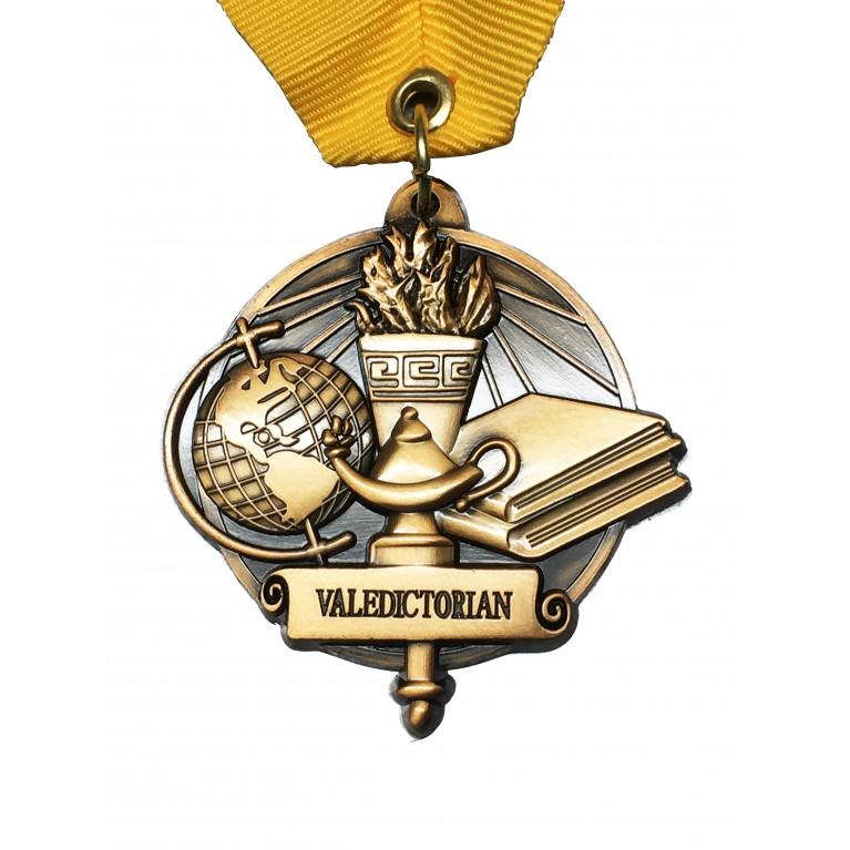 Gold Valedictorian Medal