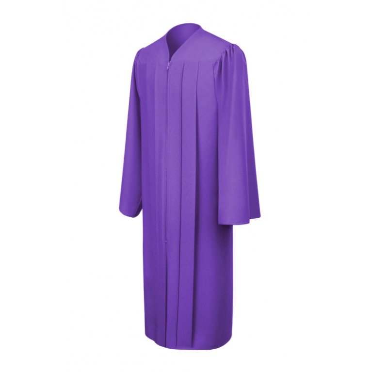 Matte Purple Gown