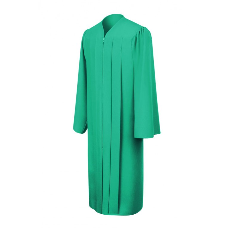Matte Emerald Green Gown