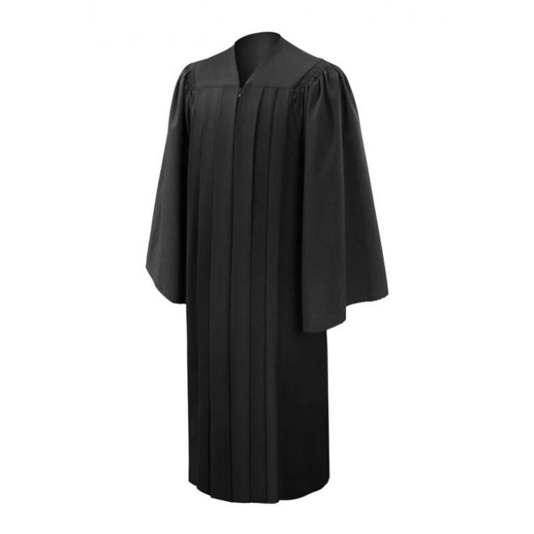 Deluxe Black Gown