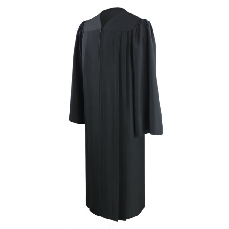 Eco-Friendly Black Gown