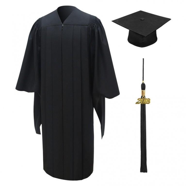 Deluxe Masters Cap, Gown & Tassel