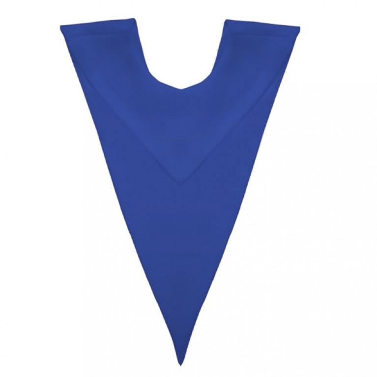 Royal Blue V-Stole