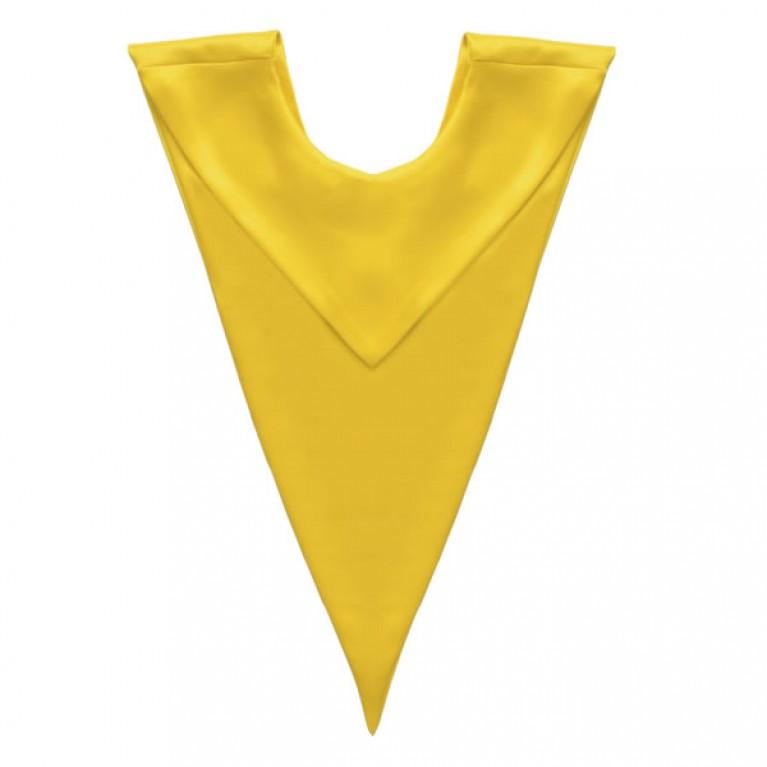 Gold V-Stole