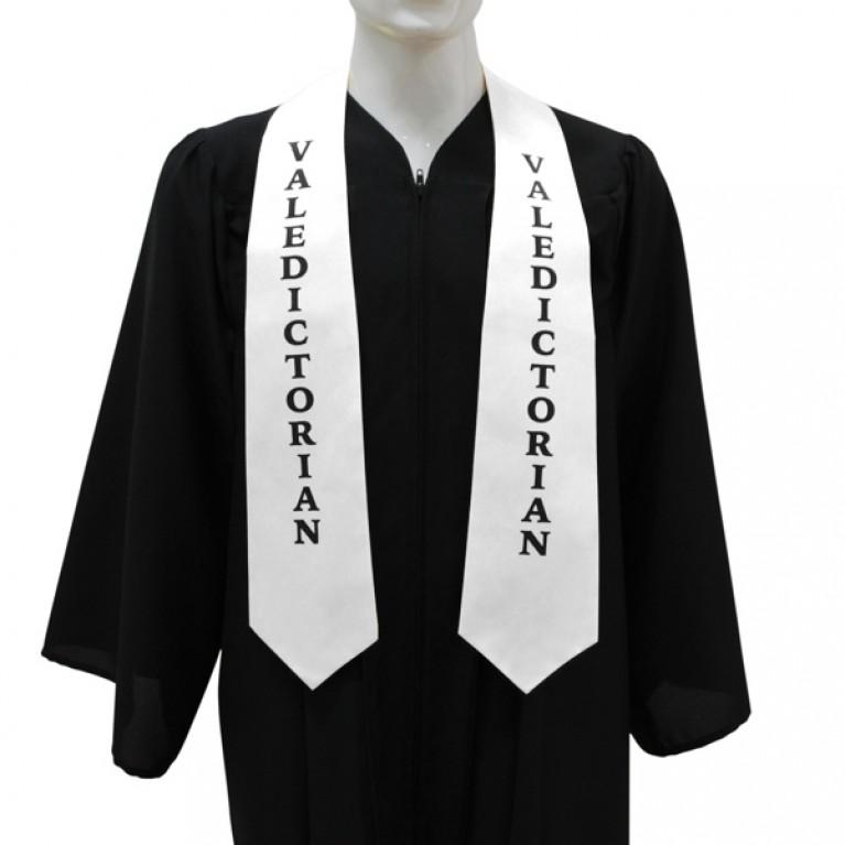White Valedictorian Stole