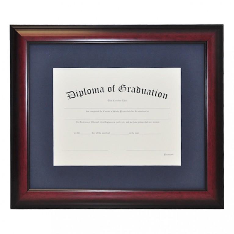 Single Document Diploma Frame