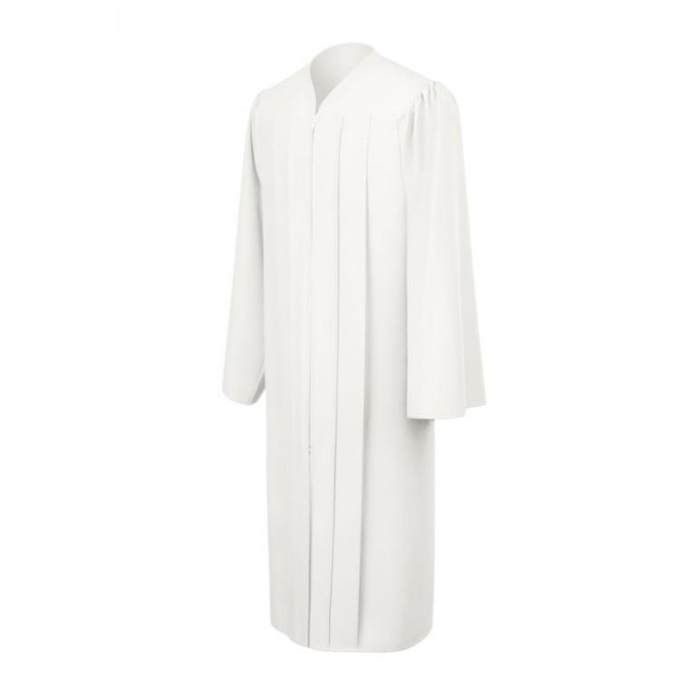 Matte White Choir Robe