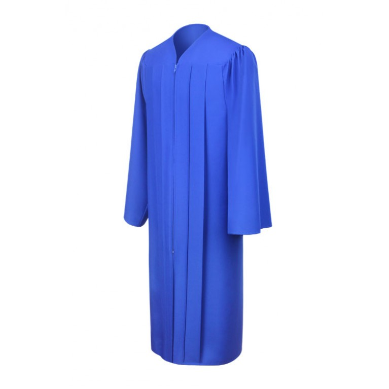Matte Royal Blue Choir Robe
