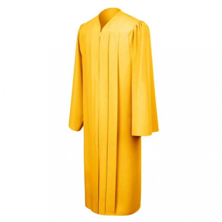 Matte Gold Choir Robe