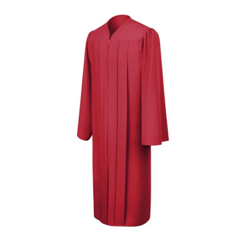Matte Red Choir Robe