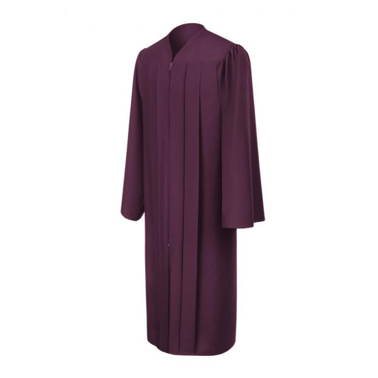 Matte Maroon Choir Robe