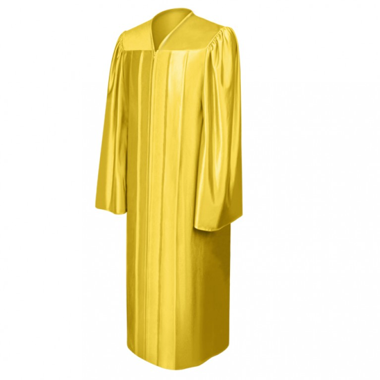 Shiny Gold Choir Robe