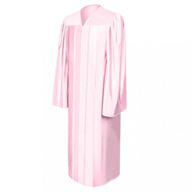 Shiny Pink Choir Robe
