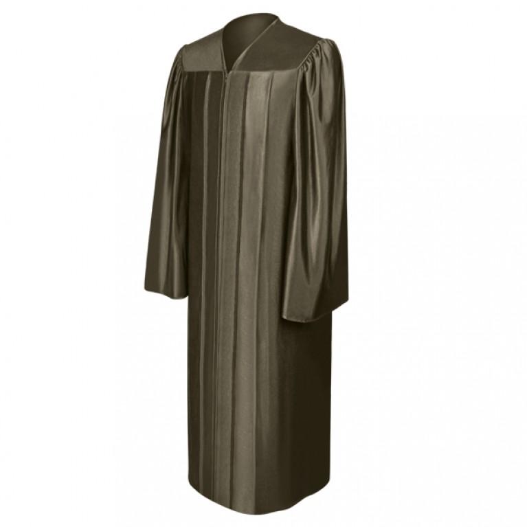 Shiny Brown Choir Robe