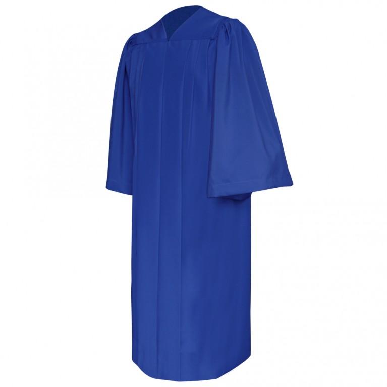 Deluxe Royal Blue Choir Robe