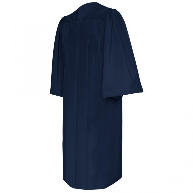 Deluxe Navy Blue Choir Robe