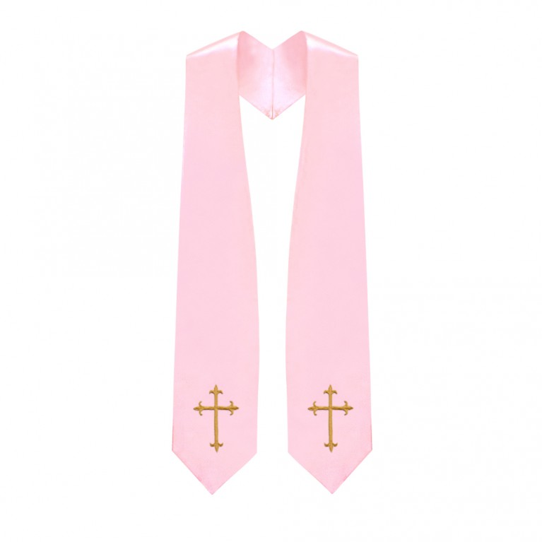 Pink Traditional Choir Stole