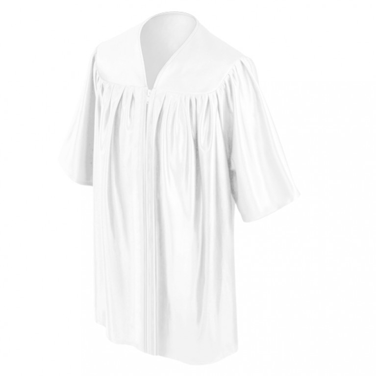 Child's White Choir Robe