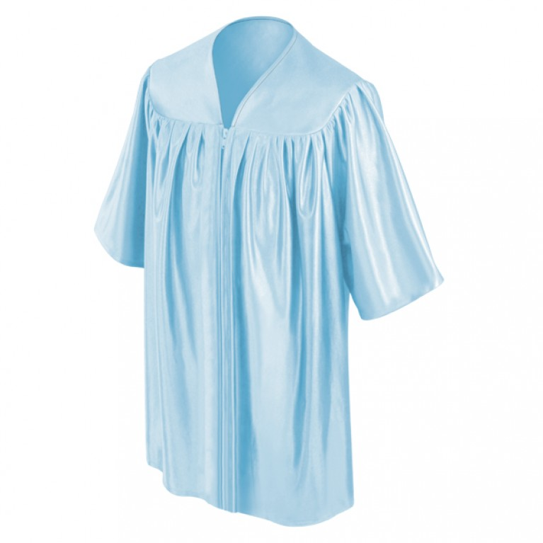 Child's Light Blue Choir Robe