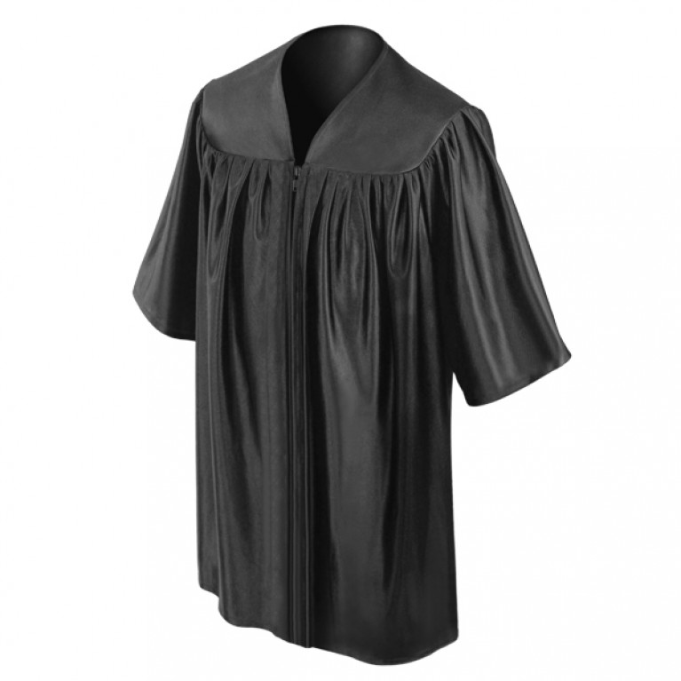 Child's Black Choir Robe