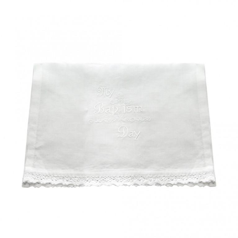 Purity Baptismal Linen Towel