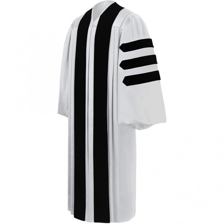 Deluxe White Clergy Robe