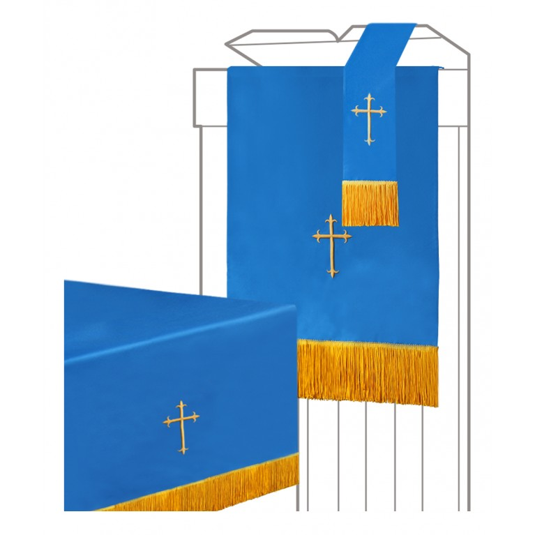 Blue/White Parament 3PC Set