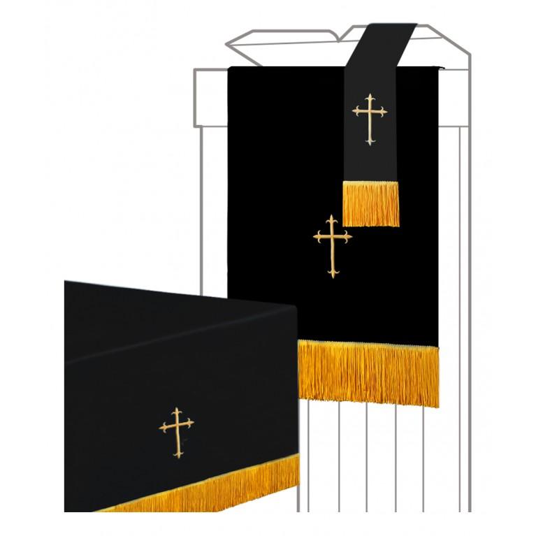 Black/White Parament 3PC Set