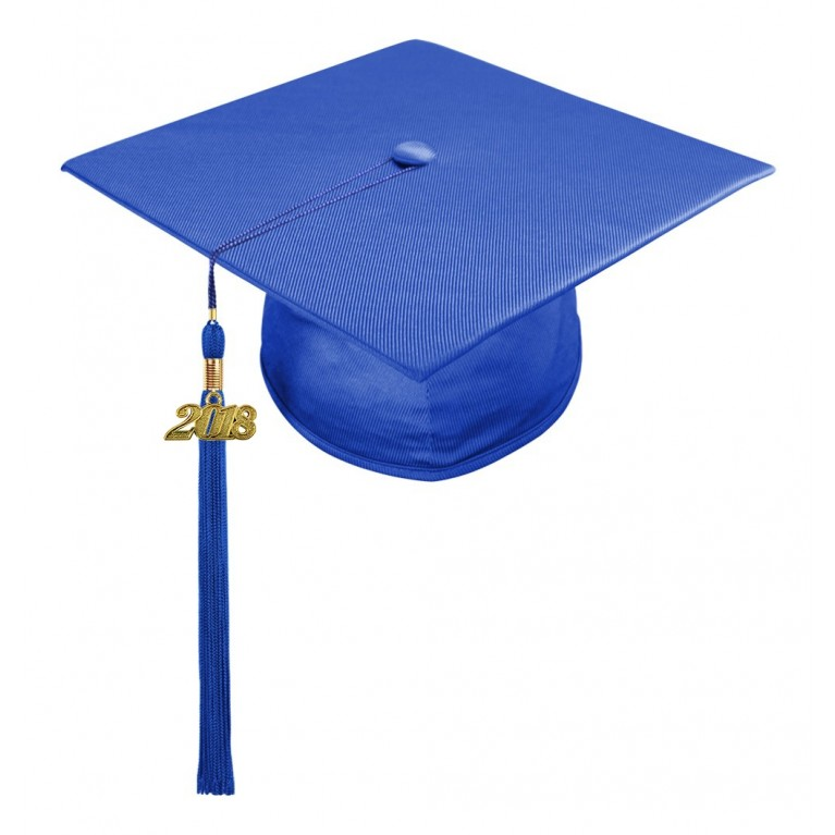 Royal Blue Child Cap & Tassel