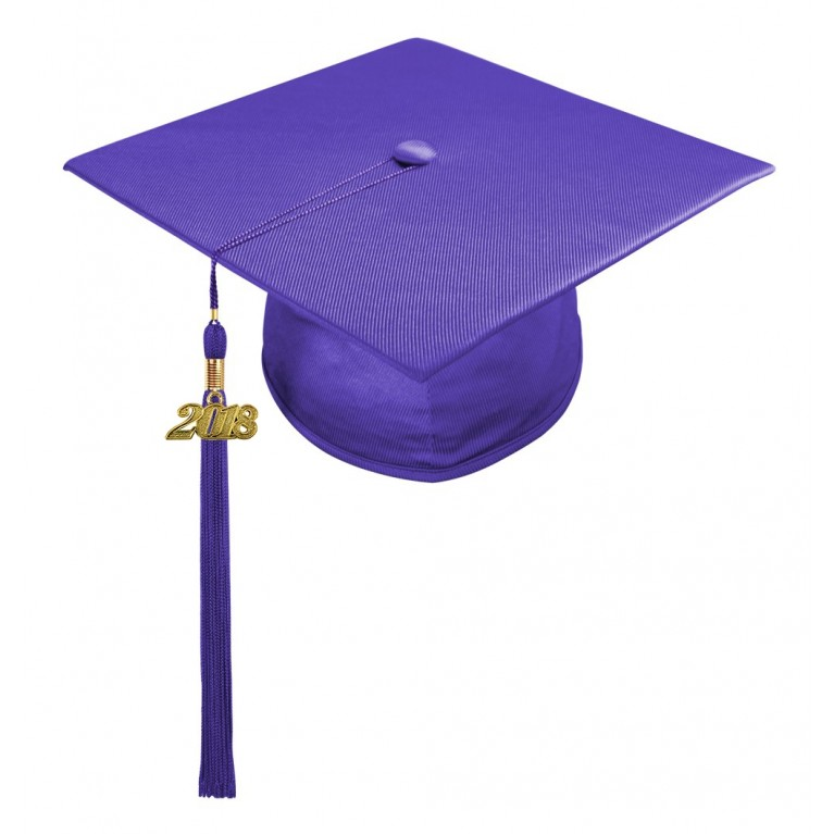 Purple Child Cap & Tassel
