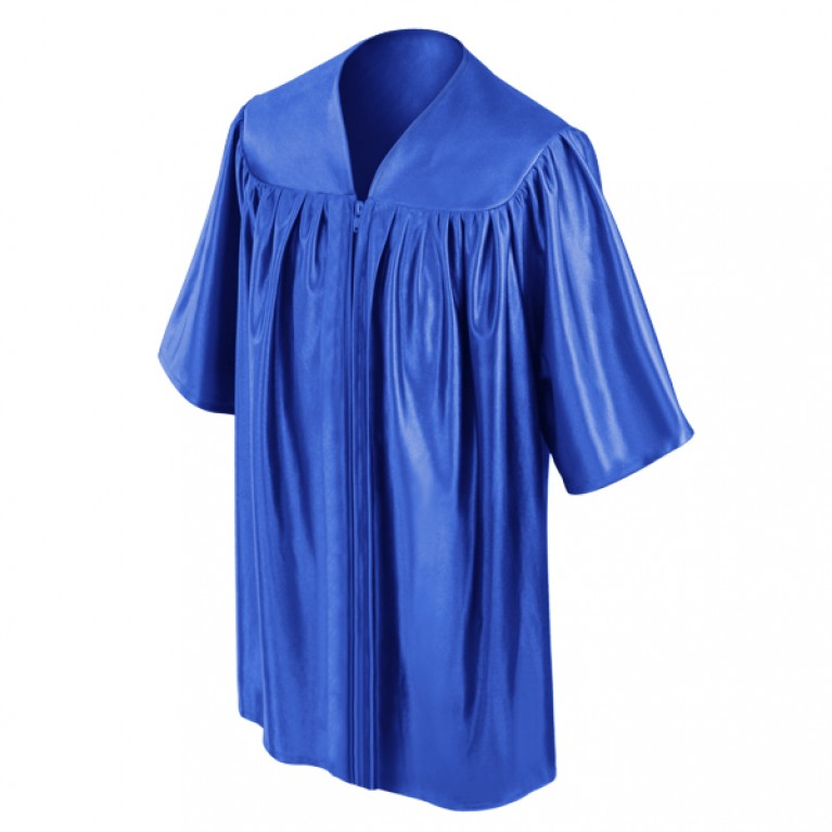 Royal Blue Child Gown