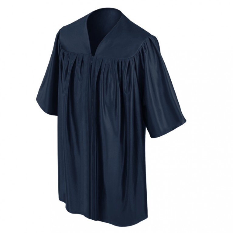 Navy Child Gown