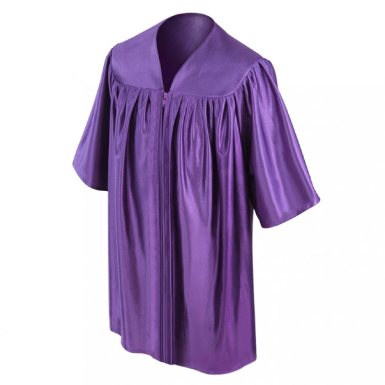 Purple Child Gown