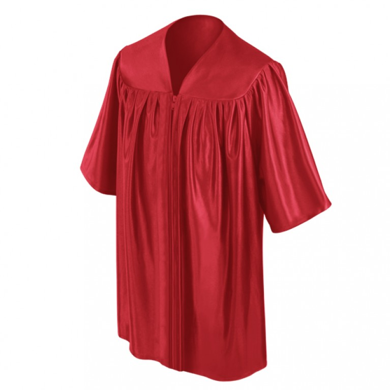 Red Child Gown