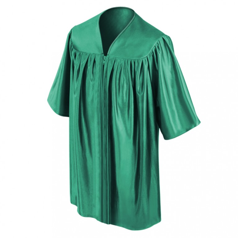 Emerald Child Gown