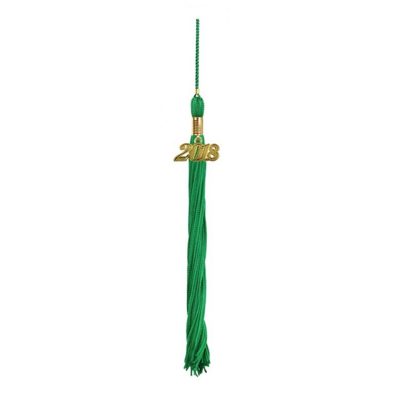 Green Graduation Tassel