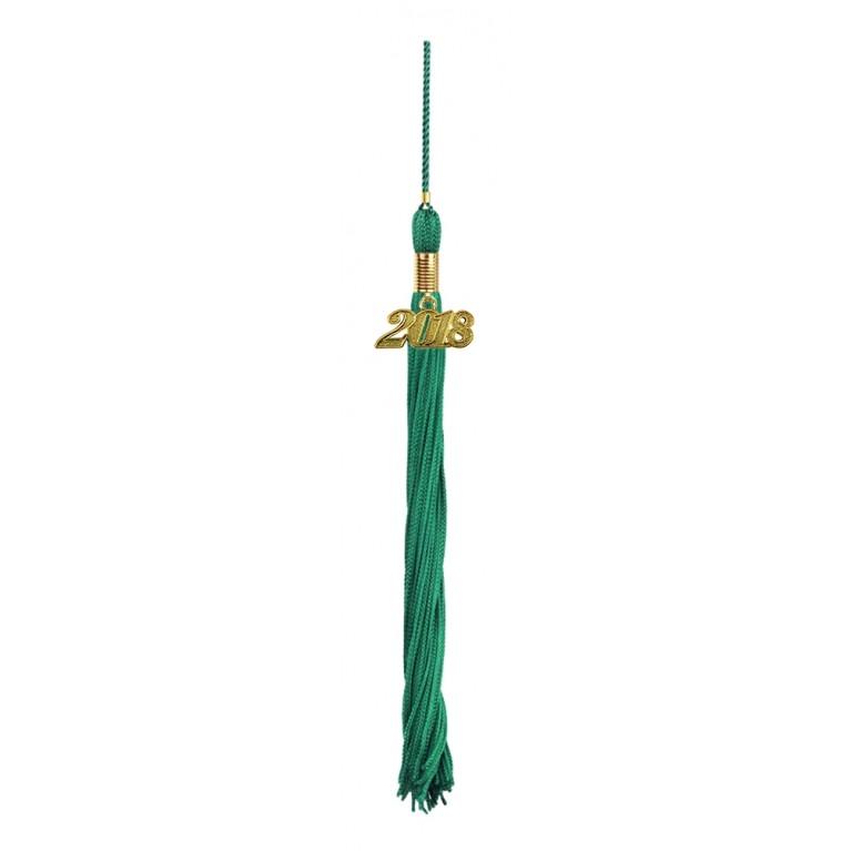 Emerald Green Graduation Tassel