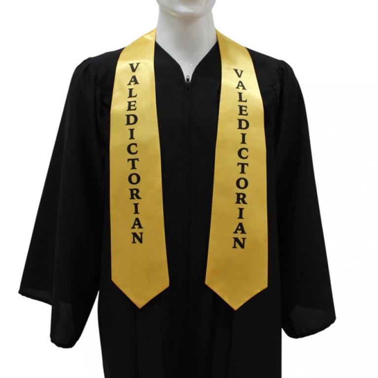 Gold Valedictorian Stole