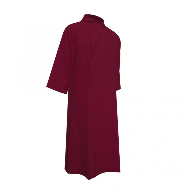 Maroon Choir Cassock